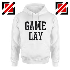 Game Day Hoodies Football TV Program Gift Hoodie Unisex White