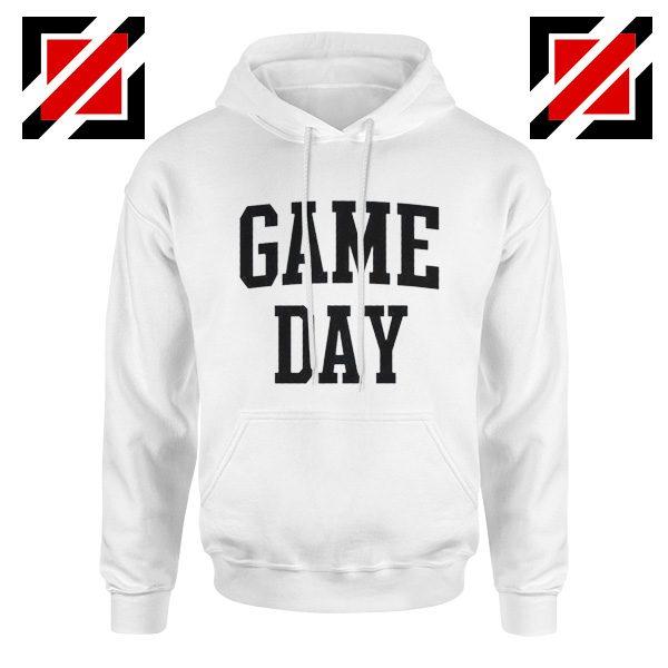 Game Day Hoodies Football TV Program Gift Hoodie Unisex White