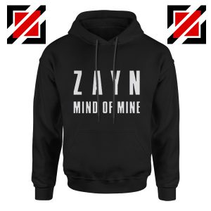 Mind of Mine Hoodies Zayn Malik Singer Gift Cheap Hoodie Black