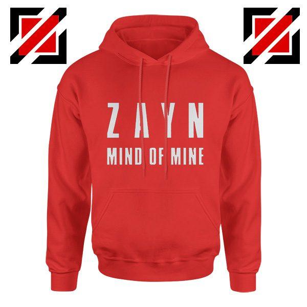 Mind of Mine Hoodies Zayn Malik Singer Gift Cheap Hoodie Red
