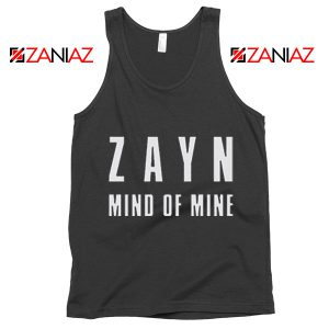Mind of Mine Song Tank Top Zayn Gift Summer Tank Top Black