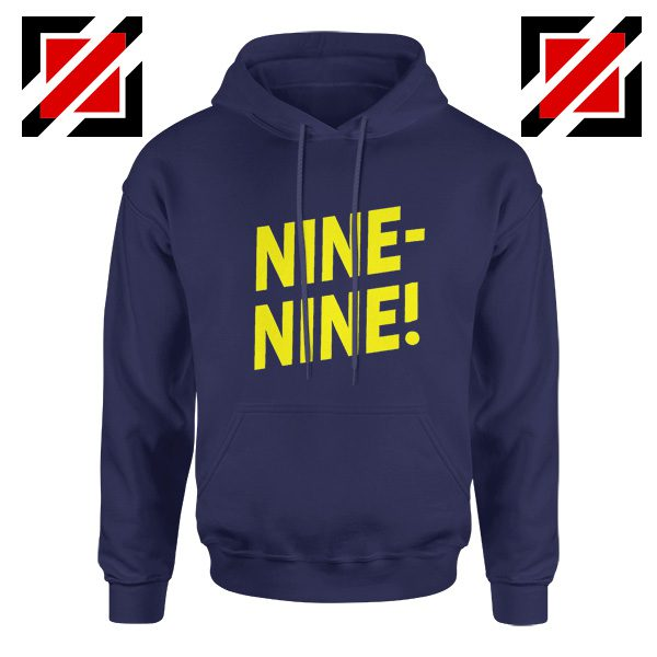 Nine Nine Tv Show Hoodies Brooklyn Hoodie America Design Navy Blue