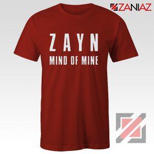 Zayn Shirt Cheap Mind of Mine T Shirts Birthday Gift Clothing Red