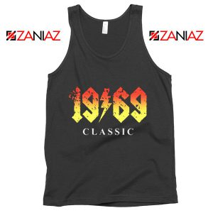 1969 Birthday Gift Tank Top Funny 50 Birthday Summer Tank Top Black