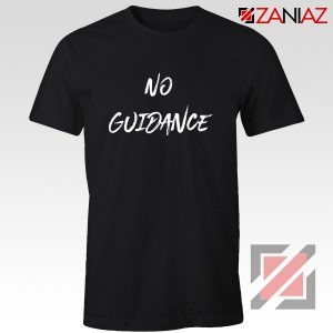 American Rapper No Guidance T-Shirt Chris Brown T Shirt Black