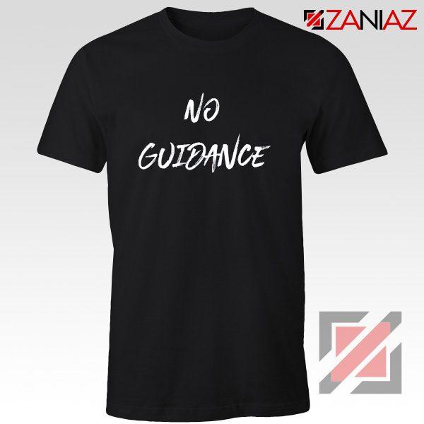 American Rapper No Guidance T-Shirt Chris Brown T Shirt Black