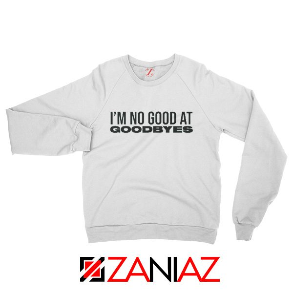 American Rapper Young Thug Sweatshirt Goodbyes Song Post Malone White