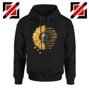 Back To School Teacher Hoodie I Became A Teacher Funny School Hoodie Black