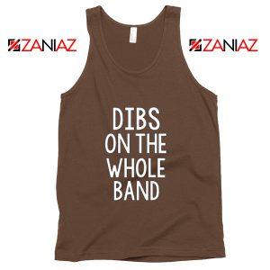 Backstreet Boys Tank Top Pop Music BSB Tank Top Size S-3XL Brown