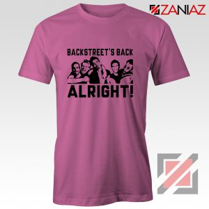 Backstreets Boys Shirt Nick Carter BSB Cheap Shirt Size S-3XL Pink