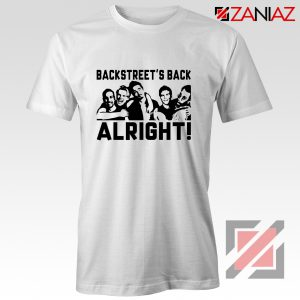 Backstreets Boys Shirt Nick Carter BSB Cheap Shirt Size S-3XL White