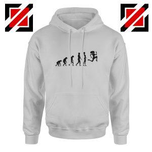 Be 100 Evolution Hoodie Coach Gift Best Hoodie Size S-2XL Sport Grey