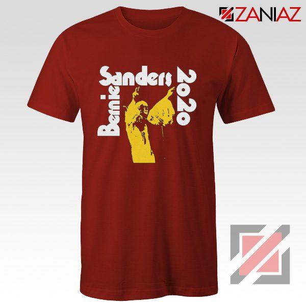 Bernie Sanders 2020 Shirt Democrat T-shirts Unisex Adult Red