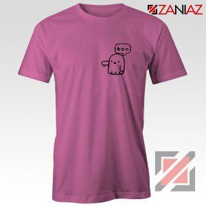 Boo Halloween Shirt Ghost Movie Best T-Shirt Size S-3XL Pink