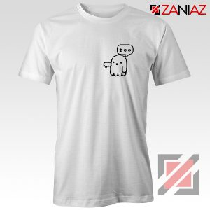 Boo Halloween Shirt Ghost Movie Best T-Shirt Size S-3XL White