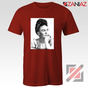 Cheap Frida Kahlo Feminist Art Shirt Women's Clothing Unisex Red