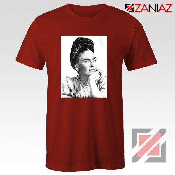 Cheap Frida Kahlo Feminist Art Shirt Women's Clothing Unisex Red