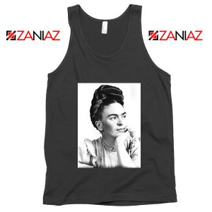 Cheap Frida Kahlo Paintings Tank Top Mexican Gift Tank Top Black