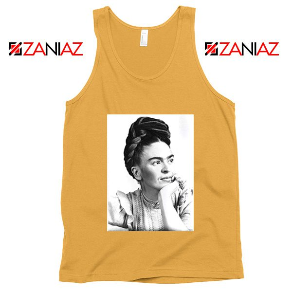 Cheap Frida Kahlo Paintings Tank Top Mexican Gift Tank Top Sunshine