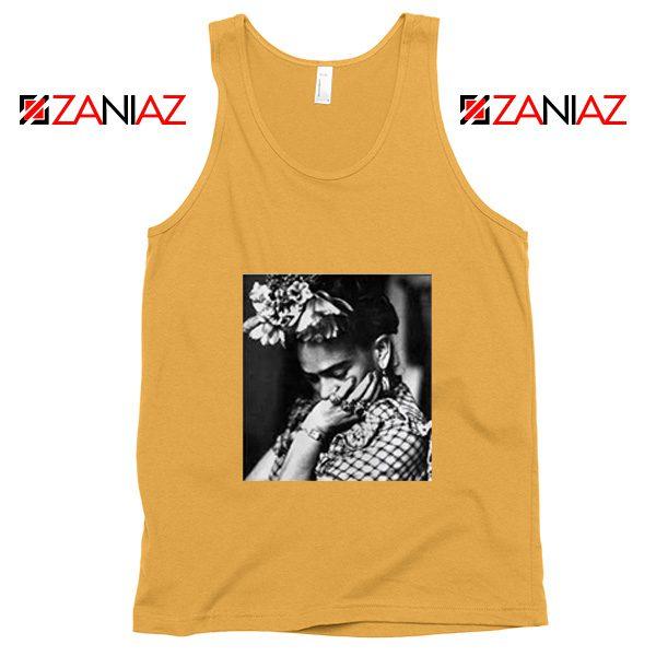 Cheap Frida Kahlo Woman Tank Top Feminist Mexican Unisex Sunshine