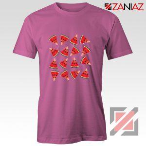 Cheap Watermelon T-shirt Funny Fruit Shirt Christmas Gift Shirt Pink