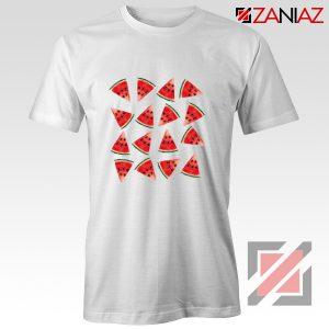 Cheap Watermelon T-shirt Funny Fruit Shirt Christmas Gift Shirt White