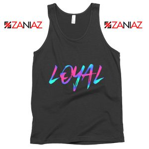 Chris Brown Lyrics Tank Top Funny Summer Gift for Her Black
