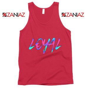 Chris Brown Lyrics Tank Top Funny Summer Gift for Her Red