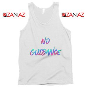 Chris Brown Tank Top You Got It Girl No Guidance Chris Brown Tank Top White