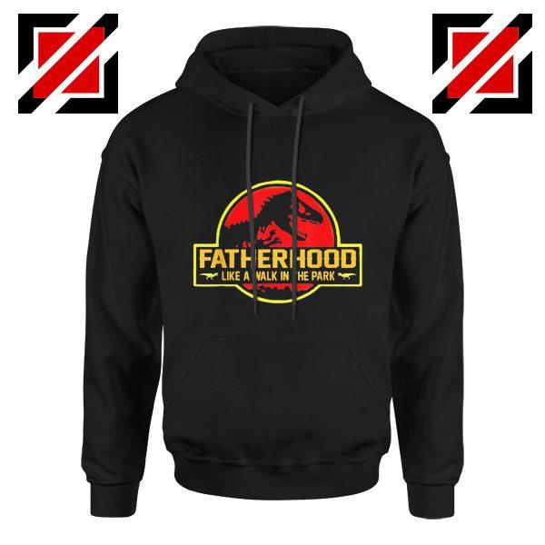 Cool Grandfather Hoodie Gift for Dad Hoodie Love Grandpa Black