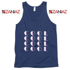 Cool Tank Top Jonas Brothers Tour Tank Top Women's Men's Navy Blue