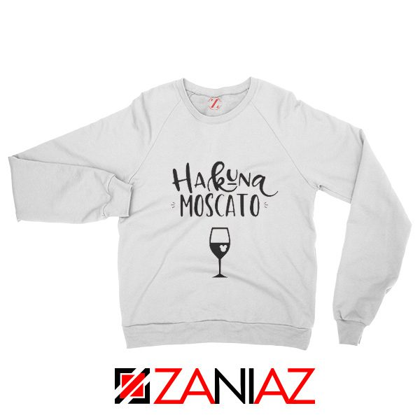 Disney Sweatshirt Women and Men Funny Christmas Disney Moscato White
