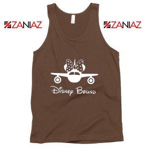 Disneyland Tank Top Disney Bound Quote Tank Top Women's Clothing Brown