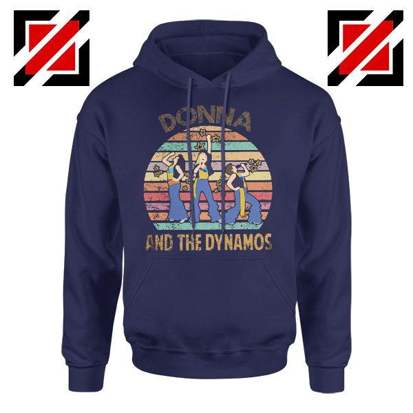 Donna And The Dynamos Hoodie Music Fan Hoodie Gift Music Hoodie Navy Blue