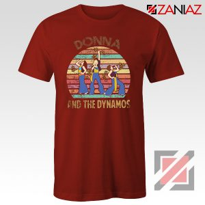 Donna And The Dynamos T-shirt Music Fan Shirt Gift Music Shirt Red