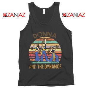 Donna And The Dynamos Tank Top Music Fan Tank Top Gift Music Black