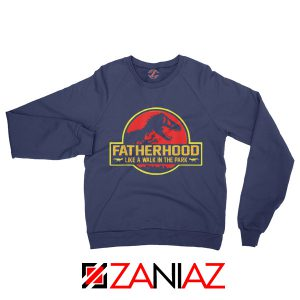 Father's Day Sweatshirt Christmas Gift for Grandfathers Sweatshirt Navy Blue
