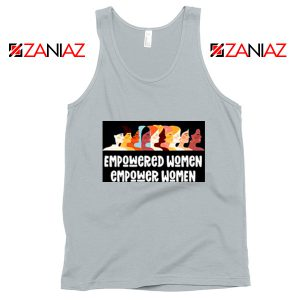 Feminist Tank Top Empowered Women Tank Top Size S-3XL New Silver