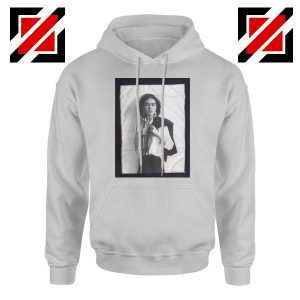 Frida Kahlo Hoodie Women's Mexican Painter Size S-2XL Grey