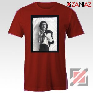Frida Kahlo Shirt Women's Mexican Painter Size S-3XL Red