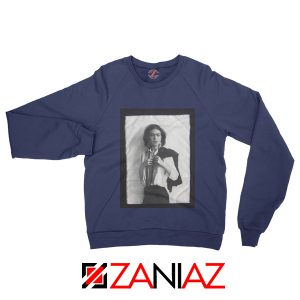 Frida Kahlo Sweatshirt Women's Mexican Painter Size S-2XL Navy
