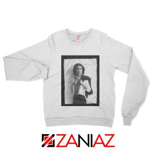 Frida Kahlo Sweatshirt Women's Mexican Painter Size S-2XL White