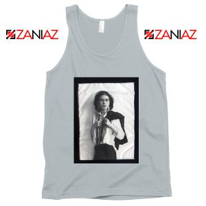 Frida Kahlo Tank Top Women's Mexican Painter Size S-3XL Silver
