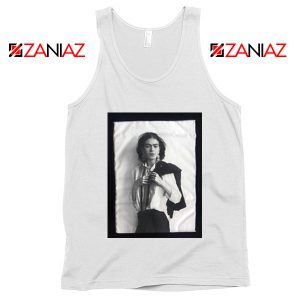 Frida Kahlo Tank Top Women's Mexican Painter Size S-3XL White