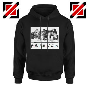 Friends Hoodie Horror Killer Movie Halloween Hoodie Unisex Adult Black