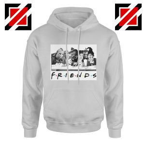 Friends Hoodie Horror Killer Movie Halloween Hoodie Unisex Adult Grey