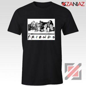 Friends Shirt Horror Killer Movie Halloween T-shirt Unisex Adult Black