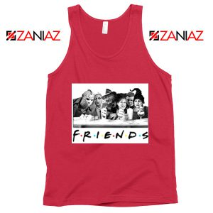 Friends Tank Top Horror Killer Movie Tank Top Size S-3XL Red
