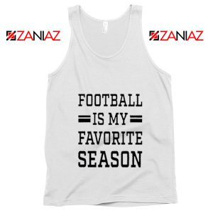 Game Day Tank Top Cute Football Tank Top Summer Gifts for Him White