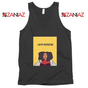 I Am My Inspiration Best Tank Top Lizzo American Songwriter Black
